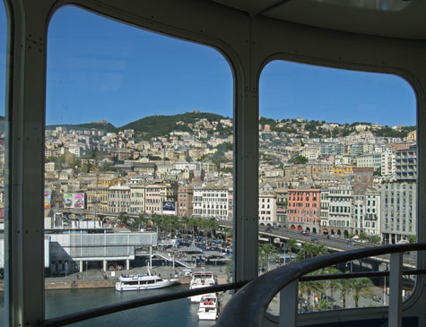 Genoa Italy Tourist Attractions (Genova Italia)