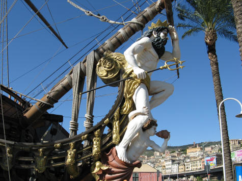 Genoa Italy Pirate Ship